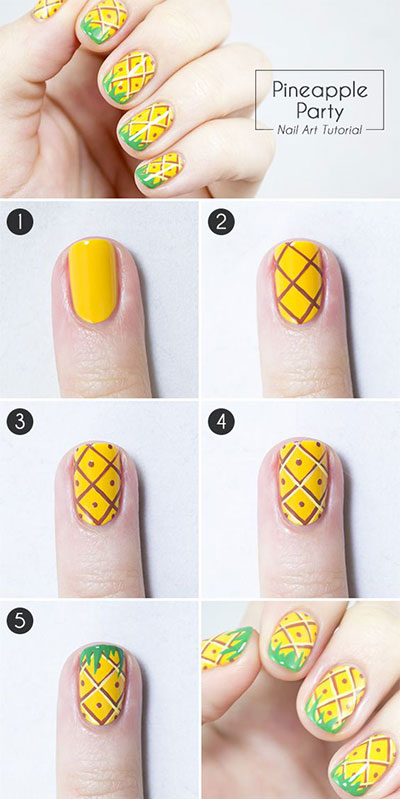 12-Step-By-Step-Summer-Nail-Art-Tutorials-For-Learners-2017-5