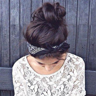 12-Summer-Hairstyle-Bun-Updo-Ideas-For-Girls-Women-2017-3