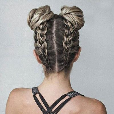 12-Summer-Hairstyle-Bun-Updo-Ideas-For-Girls-Women-2017-6