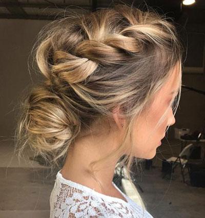 12-Summer-Hairstyle-Bun-Updo-Ideas-For-Girls-Women-2017-7