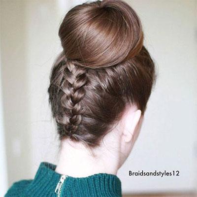12-Summer-Hairstyle-Bun-Updo-Ideas-For-Girls-Women-2017-8