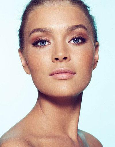 15-Natural-Summer-Face-Makeup-Trends-Ideas-For-Girls-Women-2017-10