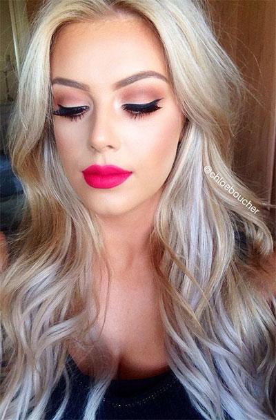 15-Natural-Summer-Face-Makeup-Trends-Ideas-For-Girls-Women-2017-16
