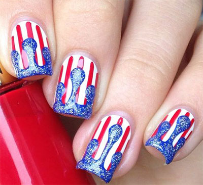 18+ Best 4th of July Nails Designs & Ideas 2017 | Modern Fashion Blog
