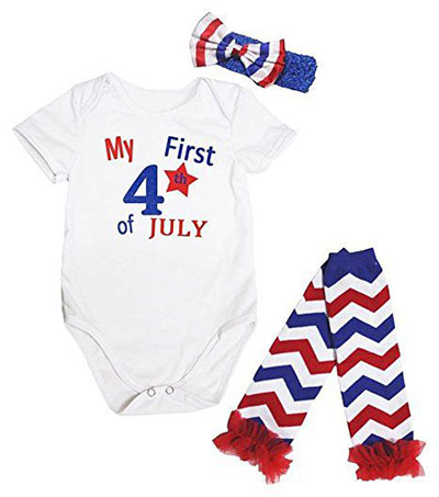 18 Cute 4th Of July Outfits For New Born Kids Juniors 2017