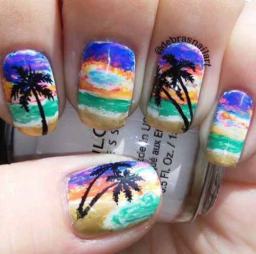 20-Best-Summer-Nails-Art-Designs-Ideas-2017-6