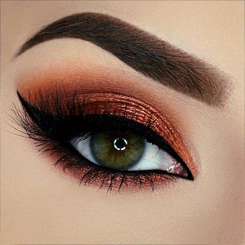 10-Autumn-Eye-Makeup-Looks-Ideas-For-Girls-Women-2017-1