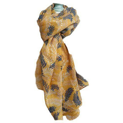 12-Autumn-Leaves-Scarves-For-Girls-Women-2017-Scarf-Collection-10