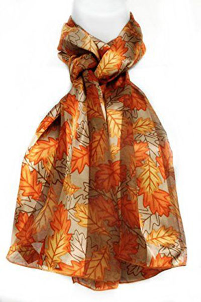 12-Autumn-Leaves-Scarves-For-Girls-Women-2017-Scarf-Collection-11
