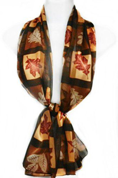 12-Autumn-Leaves-Scarves-For-Girls-Women-2017-Scarf-Collection-7
