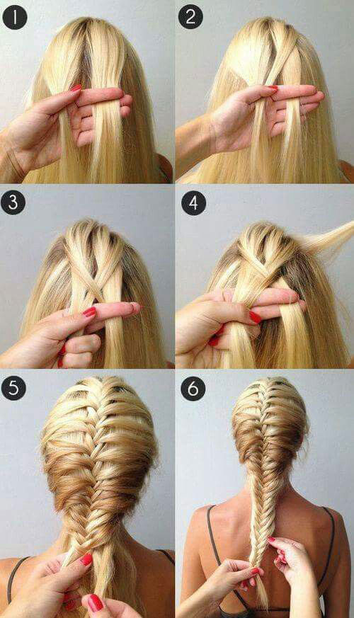 12+ Easy Step By Step Summer Hairstyle Tutorials For Beginners 2017 ...