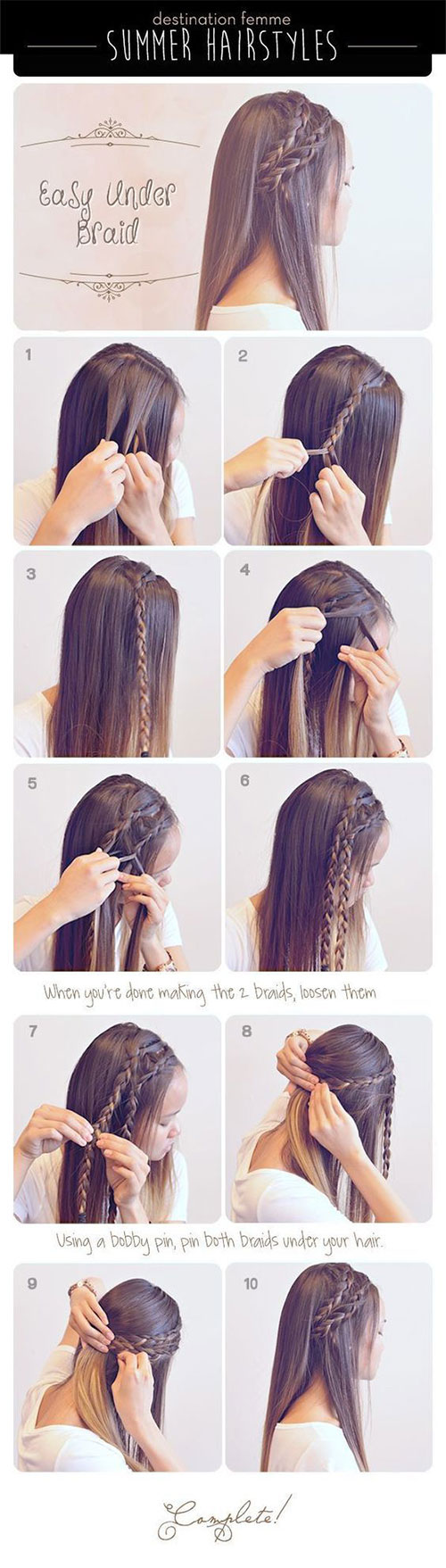 12-Easy-Step-By-Step-Summer-Hairstyle-Tutorials-For-Beginners-2017-4