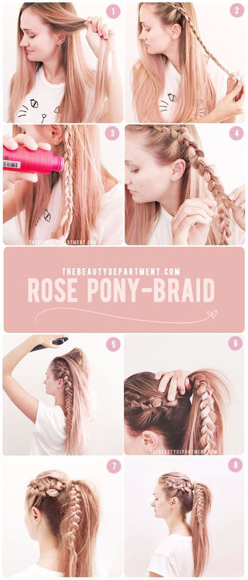 12-Easy-Step-By-Step-Summer-Hairstyle-Tutorials-For-Beginners-2017-7