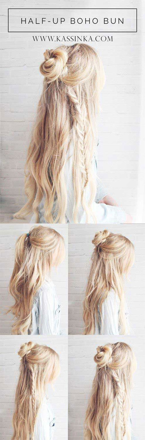 12-Easy-Step-By-Step-Summer-Hairstyle-Tutorials-For-Beginners-2017-9