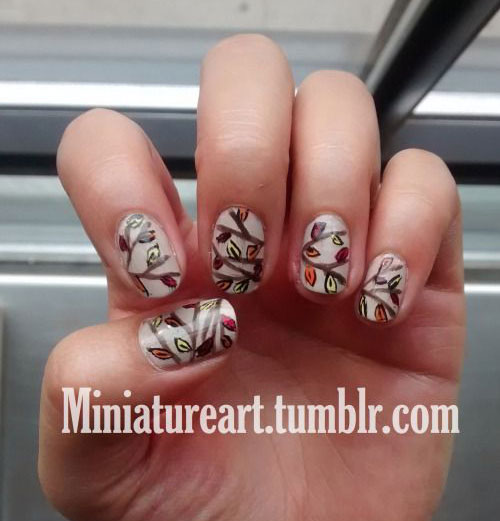 25-Best-Autumn-Nails-Art-Designs-Ideas-2017-13