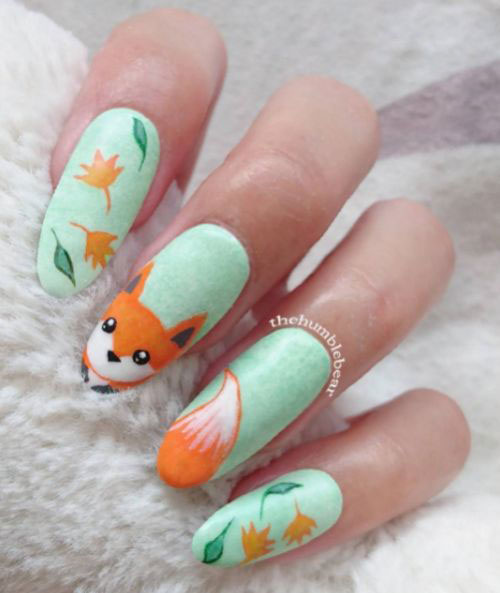 25-Best-Autumn-Nails-Art-Designs-Ideas-2017-14