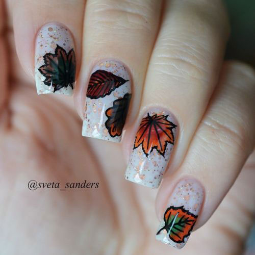 25-Best-Autumn-Nails-Art-Designs-Ideas-2017-15