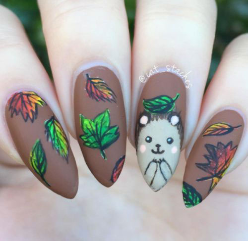 25-Best-Autumn-Nails-Art-Designs-Ideas-2017-17