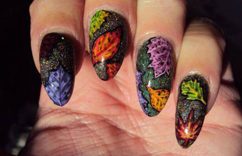 25-Best-Autumn-Nails-Art-Designs-Ideas-2017-18