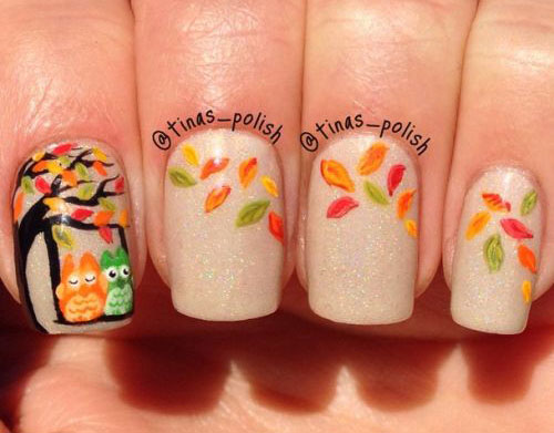 Nail Art Designs 2017 Autumn