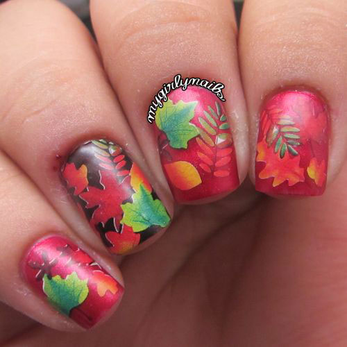 25-Best-Autumn-Nails-Art-Designs-Ideas-2017-23