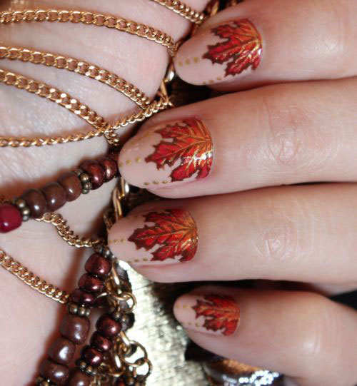 25-Best-Autumn-Nails-Art-Designs-Ideas-2017-24
