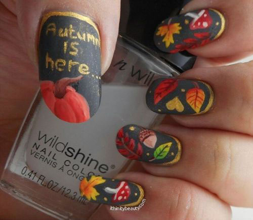 25-Best-Autumn-Nails-Art-Designs-Ideas-2017-7