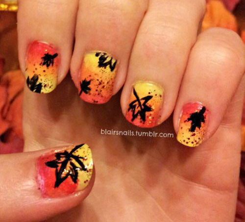 25-Best-Autumn-Nails-Art-Designs-Ideas-2017-8
