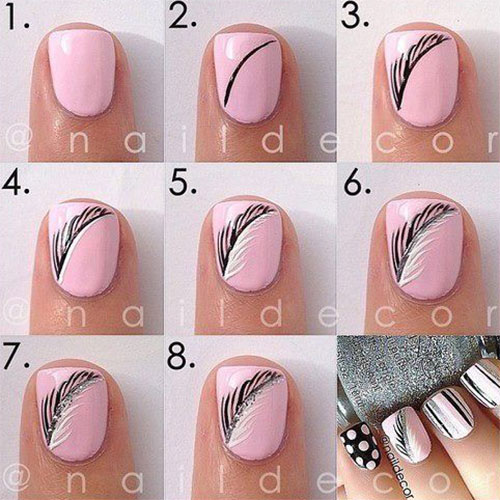 Step-By-Step-Autumn-Nail -Art-Tutorials-For-Learners-2017-3