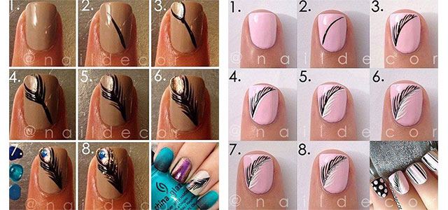 Step-By-Step-Autumn-Nail-Art-Tutorials-For-Learners-2017-F