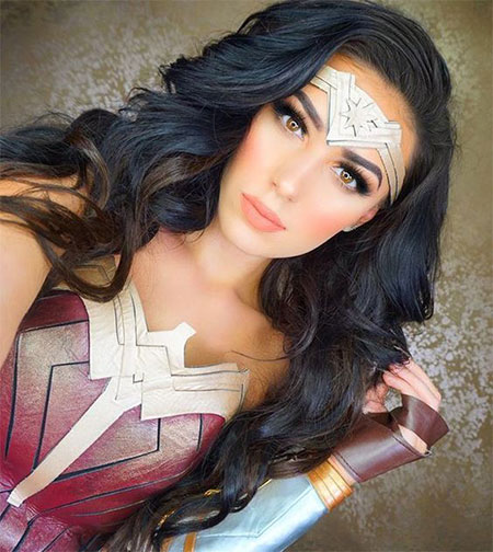 10+ Halloween Wonder Woman Makeup Looks For Girls 2017 | Modern Fashion Blog