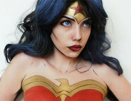 10-Halloween-Wonder-Woman-Makeup-Looks-For-Girls-2017-11
