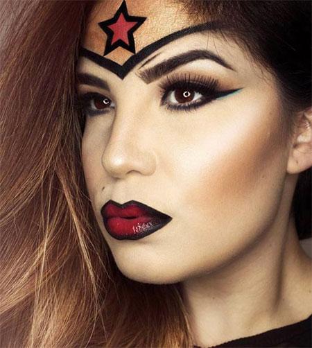 10-Halloween-Wonder-Woman-Makeup-Looks-For-Girls-2017-5