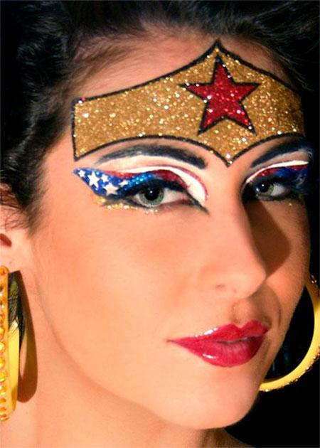 10-Halloween-Wonder-Woman-Makeup-Looks-For-Girls-2017-6