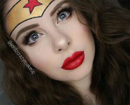 10-Halloween-Wonder-Woman-Makeup-Looks-For-Girls-2017-8