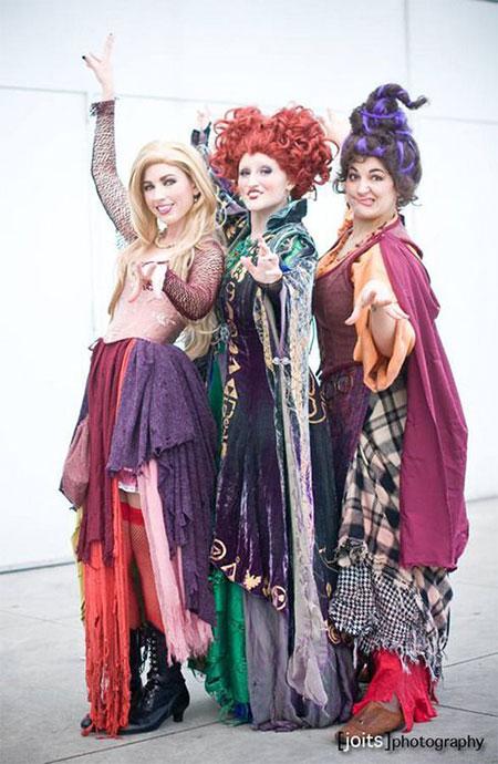 15-Creative-Group-Halloween-Costume-Ideas-For-Kids-Girls-2017-11