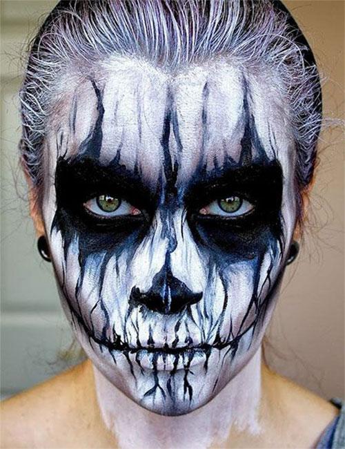 15-Creepy-Halloween-Skull-Make-Up-Looks-For-Girls-Women-2017-11