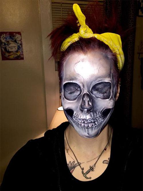 15-Creepy-Halloween-Skull-Make-Up-Looks-For-Girls-Women-2017-7