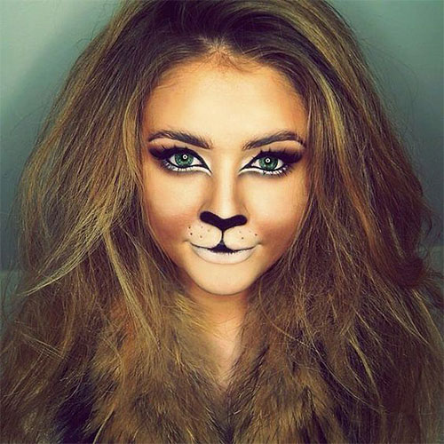 15-Halloween-Cat-Face-Makeup-Ideas-For-Girls-Women-2017-1