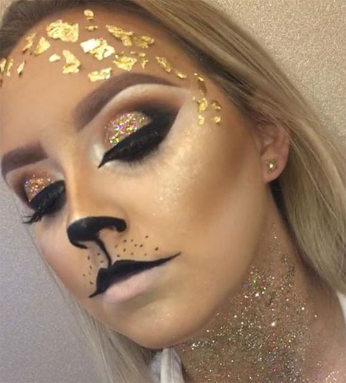 15-Halloween-Cat-Face-Makeup-Ideas-For-Girls-Women-2017-10