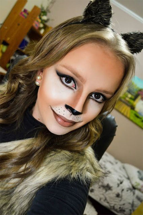 15-Halloween-Cat-Face-Makeup-Ideas-For-Girls-Women-2017-12