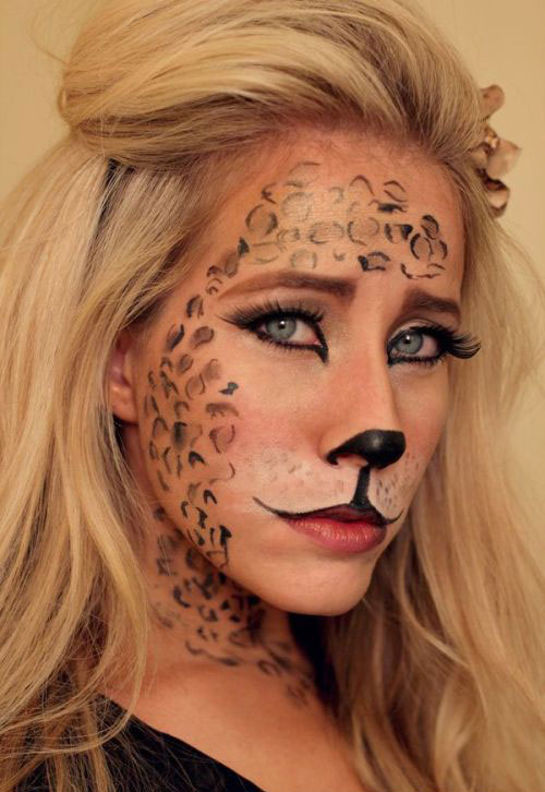15-Halloween-Cat-Face-Makeup-Ideas-For-Girls-Women-2017-14