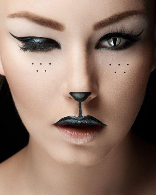 15-Halloween-Cat-Face-Makeup-Ideas-For-Girls-Women-2017-15