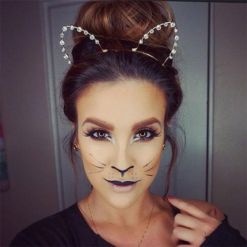 15-Halloween-Cat-Face-Makeup-Ideas-For-Girls-Women-2017-2