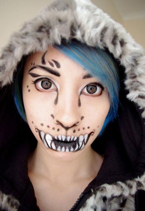 15-Halloween-Cat-Face-Makeup-Ideas-For-Girls-Women-2017-5