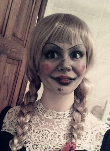 15+ Halloween Doll Face Makeup Ideas For Girls & Women ...