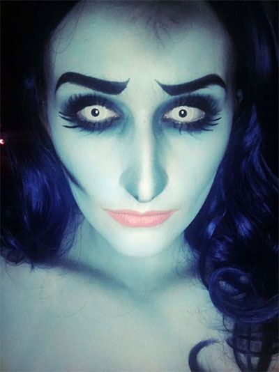 15+ Scary Halloween Corpse Bride Makeup Ideas For Girls U0026 Women 2017 | Modern Fashion Blog