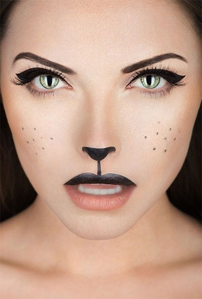 15-Simple-Easy-Halloween-Makeup-Ideas-For-Girls-Women-2017-12