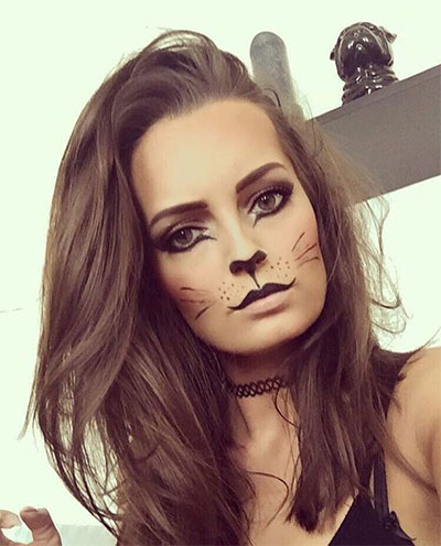 15-Simple-Easy-Halloween-Makeup-Ideas-For-Girls-Women-2017-14