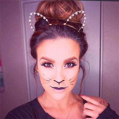 15-Simple-Easy-Halloween-Makeup-Ideas-For-Girls-Women-2017-3